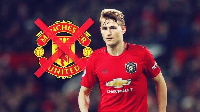 La folle raison pour laquelle Manchester United n'a pas voulu recruter De Ligt | Oh My Goal
