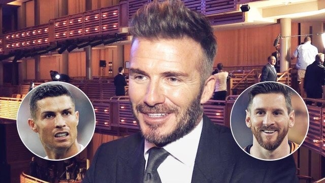 David Beckham révèle enfin qui est le meilleur entre Cristiano Ronaldo et Lionel Messi | Oh My Goal
