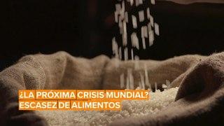 El coronavirus podría causar una crisis mundial de alimentos