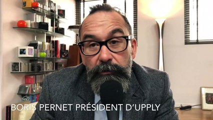 Boris Pernet, président d'Upply