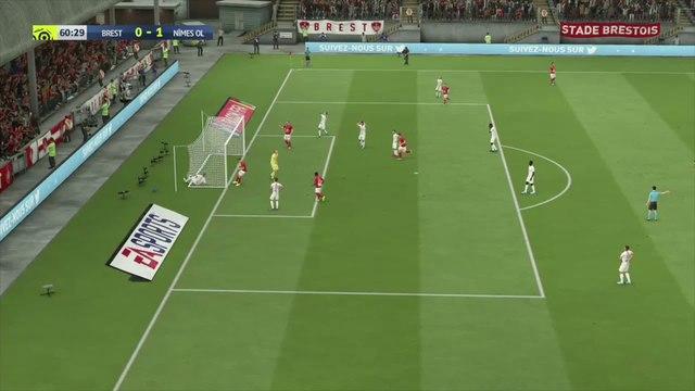 Stade Brestois 29 - Nîmes Olympique : notre simulation FIFA 20 (L1 - 37e journée)