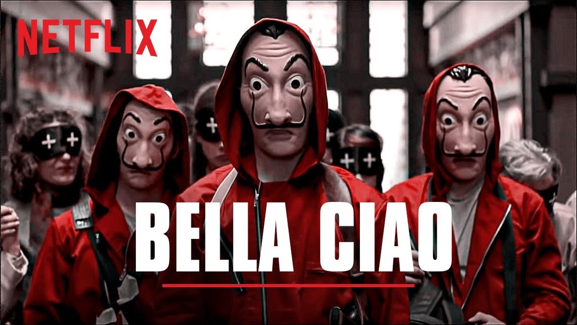Bella Ciao song dance - La casa de papel - Money Heist -  Netflix