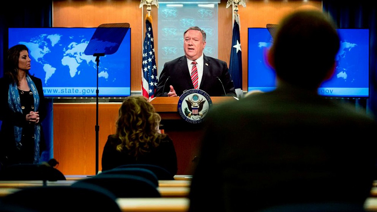 Mike Pompeo_ 'enormous evidence' coronavirus came from Chinese lab