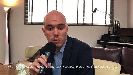 David Poirson, directeur des opérations de Chronotruck