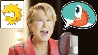 Yeardley Smith (Lisa Simpson) Improvises 8 New Cartoon Voices