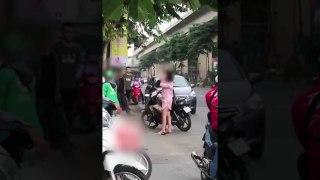 Xôn xao nam thanh niên cao to đánh bạn gái