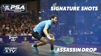 Squash: Signature Shots - Karim Abdel Gawad - Assassin Drop