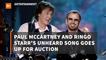 The Paul McCartney and Ringo Starr Auction