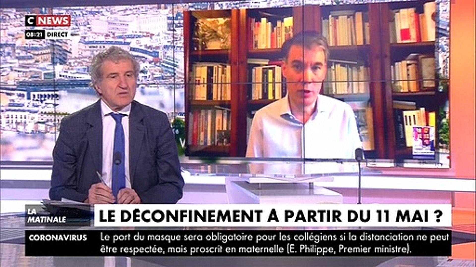 Le fils d'Olivier Faure, le patron du PS, débarque en plein direct ce matin sur CNews pour fair