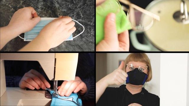 Tipps gegen beschlagene Brillen beim Maskentragen
