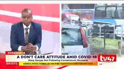 A Dont Care Attitude Amid COVID-19