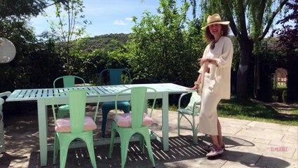 #MiTrucoEnCasa: Dafne Vijande nos muestra el comedor exterior de su casa