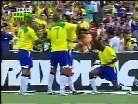 Le jour où Kakà, Ronaldo, Adriano et Robinho ont humilié le Chili