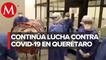 Centro de Congresos de Querétaro recibe a su primer paciente con covid-19