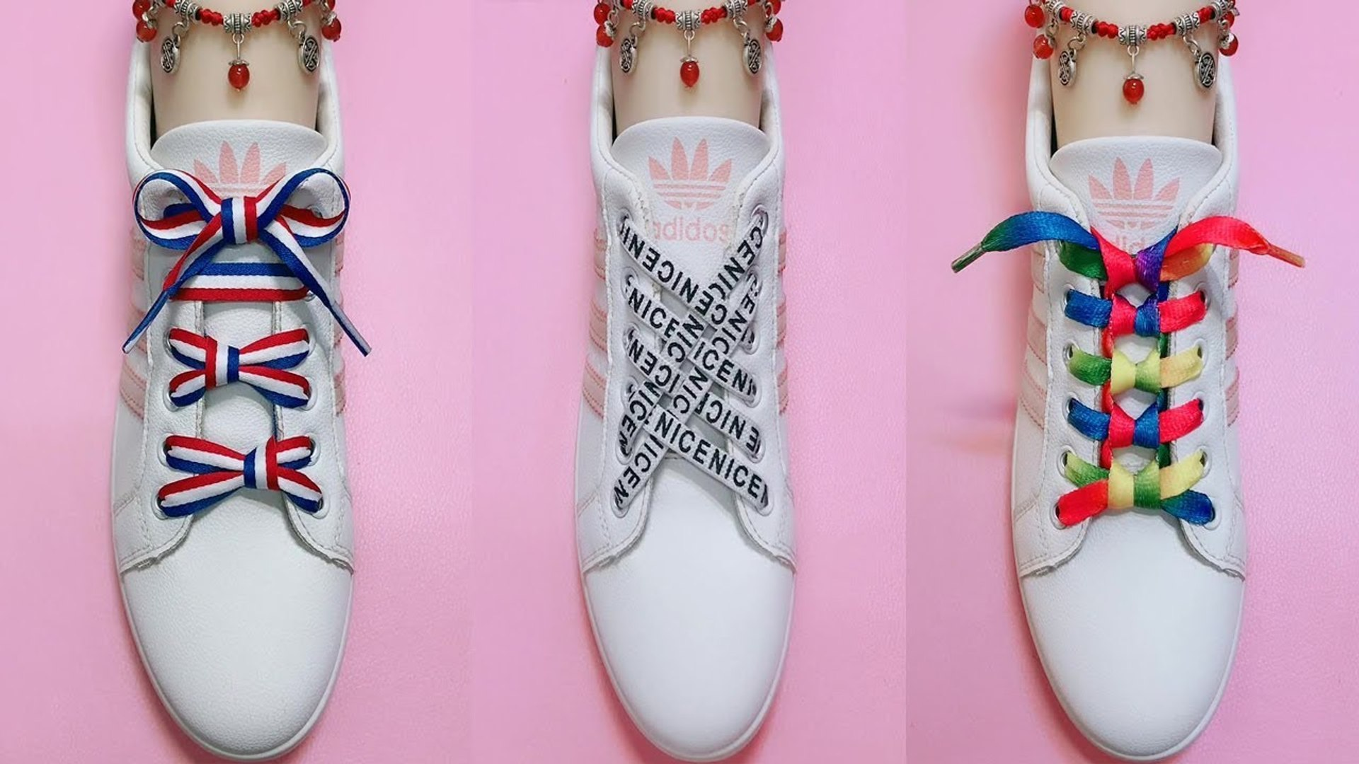 42 Creative Ways to fasten Shoelaces - Cool ideas how to tie shoe laces