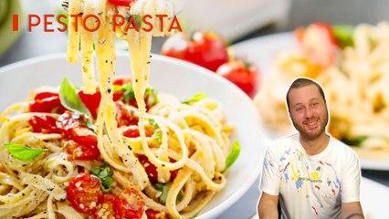 How to Cook Perfect Pesto Pasta   Tagliatelle Pasta With Pesto Sauce l Everyday Food