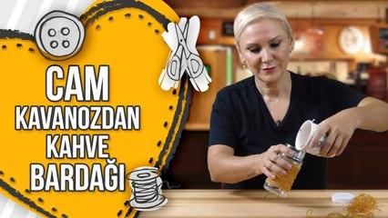 HandCraft TV Cam Kavanozdan Kahve Bardağı Yapımı