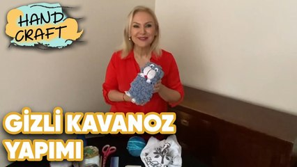 Gizli Kavanoz Yapımı - How to make secret jar? | Handcraft TV Zeliha Sunal