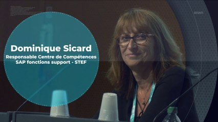 Paroles d'Adhérents USF - STEF : Dominique Sicard, Responsable Centre de Compétences SAP fonctions support
