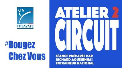 SAVATE boxe française - Entraînement Circuit #02 / #BOUGEZCHEZVOUS…⏱ … avec Fanny SERENA