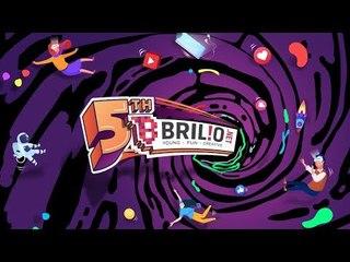 BRILIO 5th ANNIVERSARY! Young, Fun, and Creative!