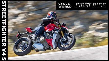 2020 Ducati Streetfighter V4 S First Ride