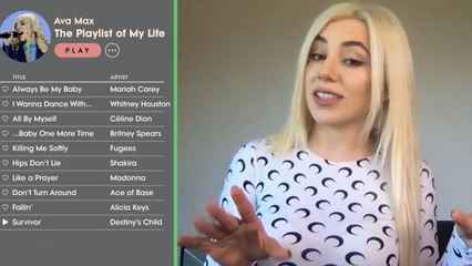 Ava Max Creates the Playlist of Her Life