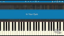 Robin Schulz feat. Alida – In Your Eyes (Piano Tutorial Synthesia)