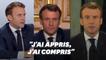 Toutes ces fois où Macron s'est réinventé (au moins dans les mots)