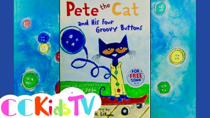 Tales From The Trunk | Pete The Cat & His Four Groovy Buttons by Eric Litwin | Story Book For Kids