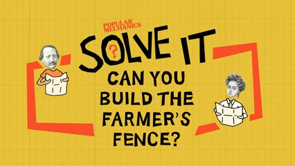 Can You Build The Farmer's Fence?   SOLVE IT