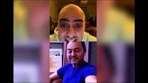 Serdar Ortaç ve Bartu Küçükçağlayan'nın güldüren paylaşımı