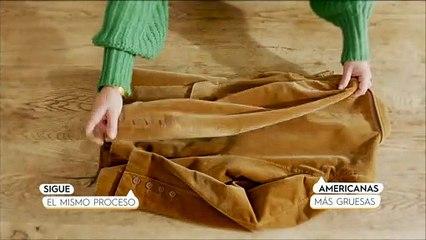Cambio de armario: cómo doblar los abrigos como Marie Kondo