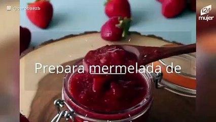 Receta de mermelada de fresa casera