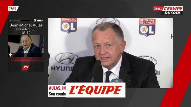Jean-Michel Aulas annonce que l'OL « a pris la décision de déposer des recours » - Foot - L1