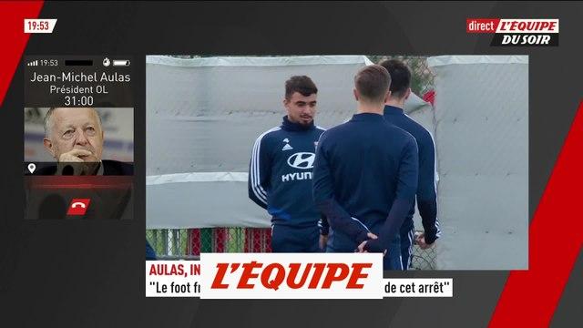 Jean-Michel Aulas : « Plus de difficultés à garder nos meilleurs joueurs » - Foot - L1