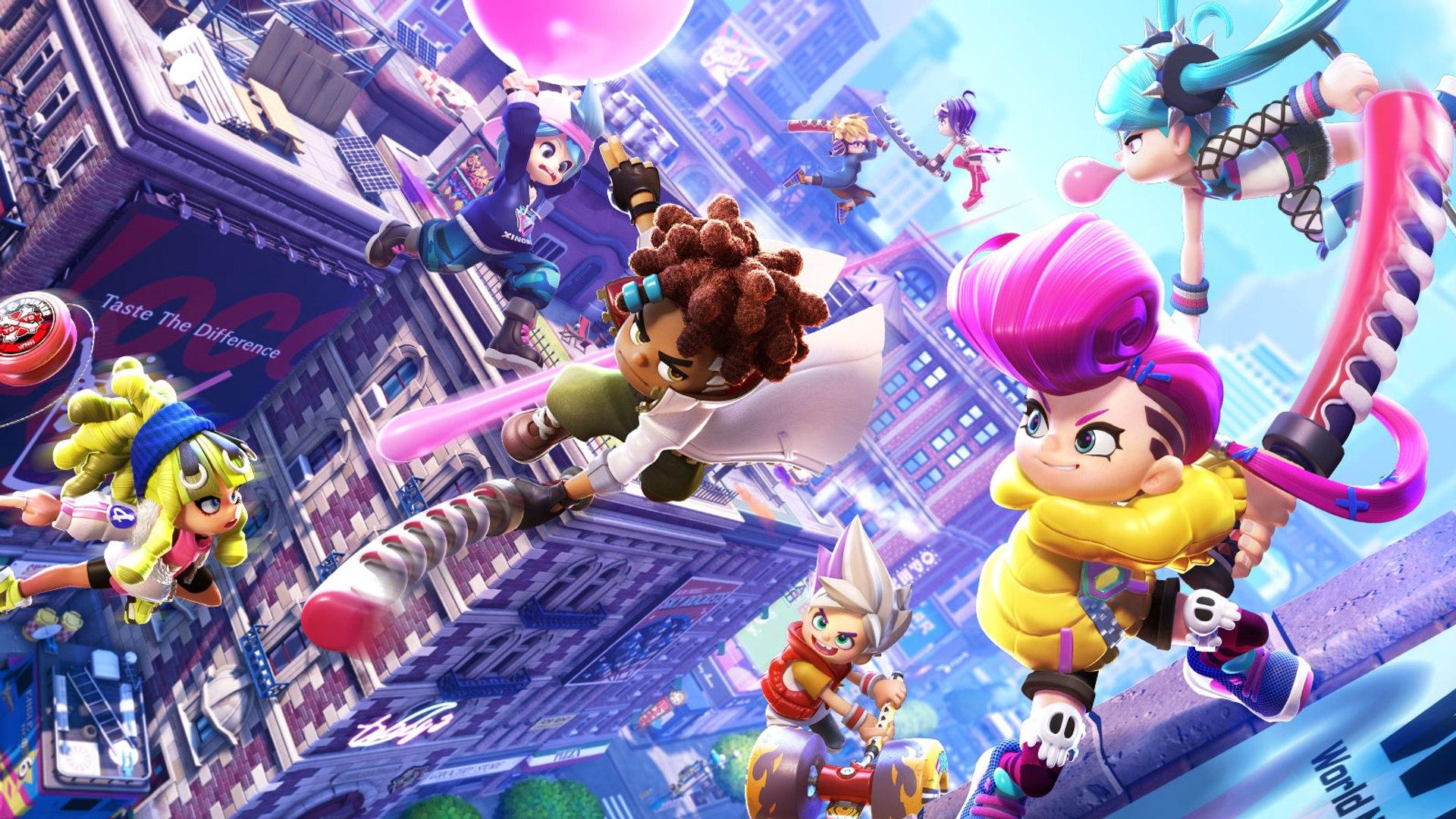 Ninjala - Présentation du gameplay