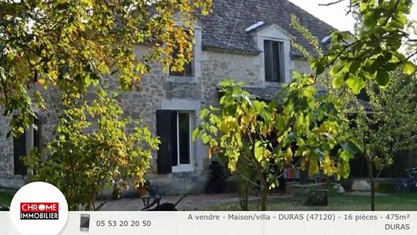 A vendre - Maison/villa - DURAS (47120) - 16 pièces - 475m²