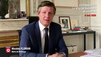 Déconfinement - Point de situation du maire de Bordeaux