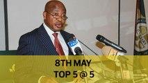 Top 5 @ 5: Machakos gets first Covid-19 case, Senators summon AG, Karume estate trustees removed