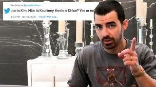 Joe Jonas Goes Undercover on YouTube, Reddit and Twitter
