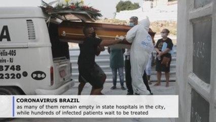 Rio de Janeiro crumbles under pandemic