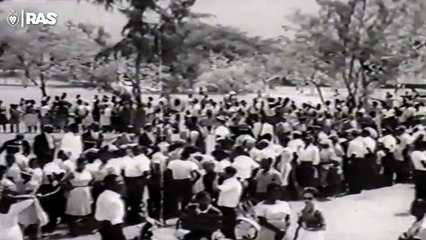 Haile Selassie - 1966 - Visit To Jamaica 'Grounation Day'