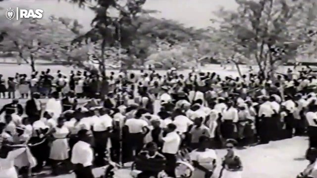 Haile Selassie - 1966 - Visit To Jamaica 'Grounation Day'