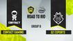 CSGO - G2 Esports vs. c0ntact gaming [Overpass] Map 2 - ESL One Road to Rio - Group B - EU