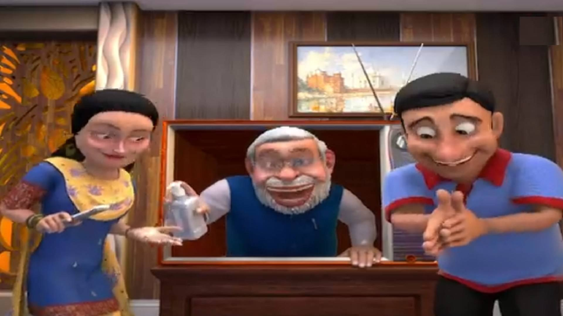 So Sorry: Modi sings mitron acchi hai dooriyan, jitega India