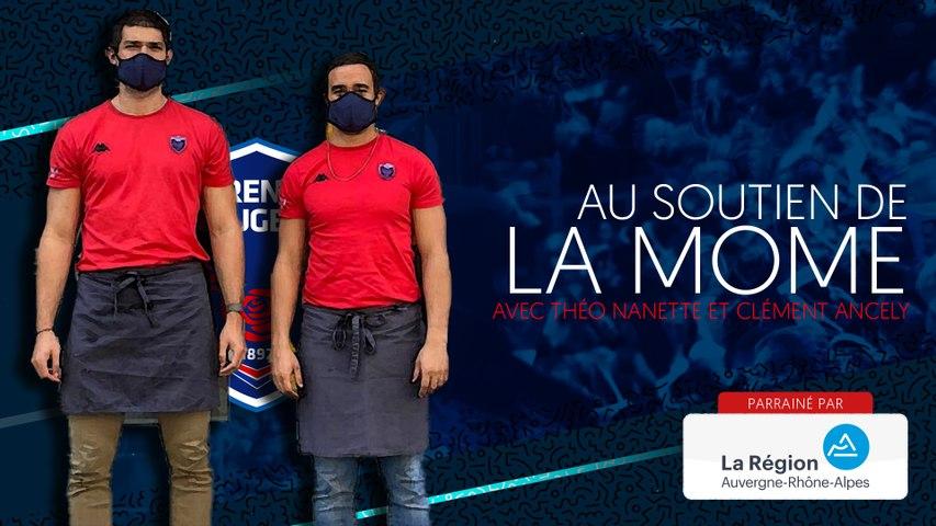 Rugby : Video - Clément Ancely et Théo Nanette au soutien de la Môme