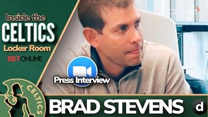 CELTICS Staying Sharp During Pandemic: Brad Stevens Explains via Zoom - 5/9/20