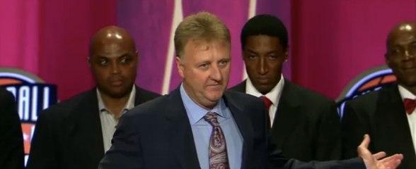 1992 US Olympic Dream Team's Basketball Hall of Fame Enshrinement Speech