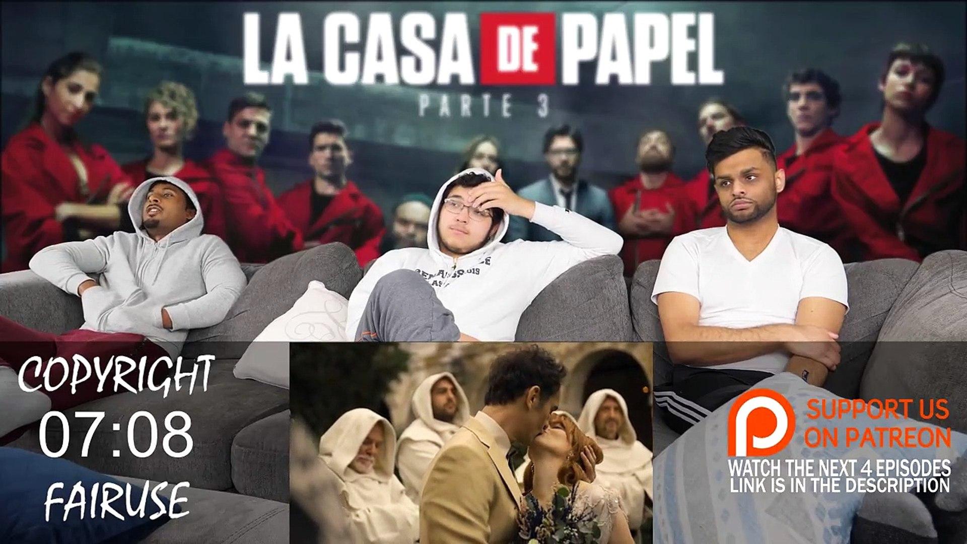 La Casa De Papel (Money Heist) - 4x1 -Game over- REACTION + REVIEW!